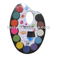 Watercolors 12-color set solid color cake