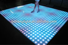 Cheap RGB color mixing LED dance floor