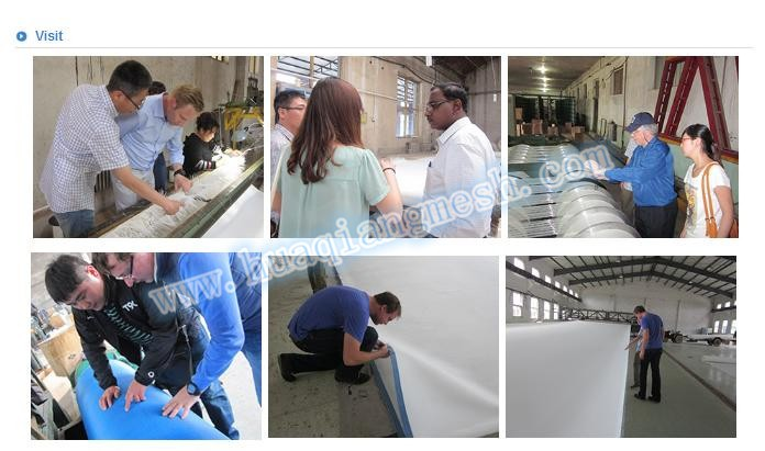 water treatment filter cloth