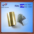 pharmaceutical packaging HSL3-5gsm double side gold aluminum foil