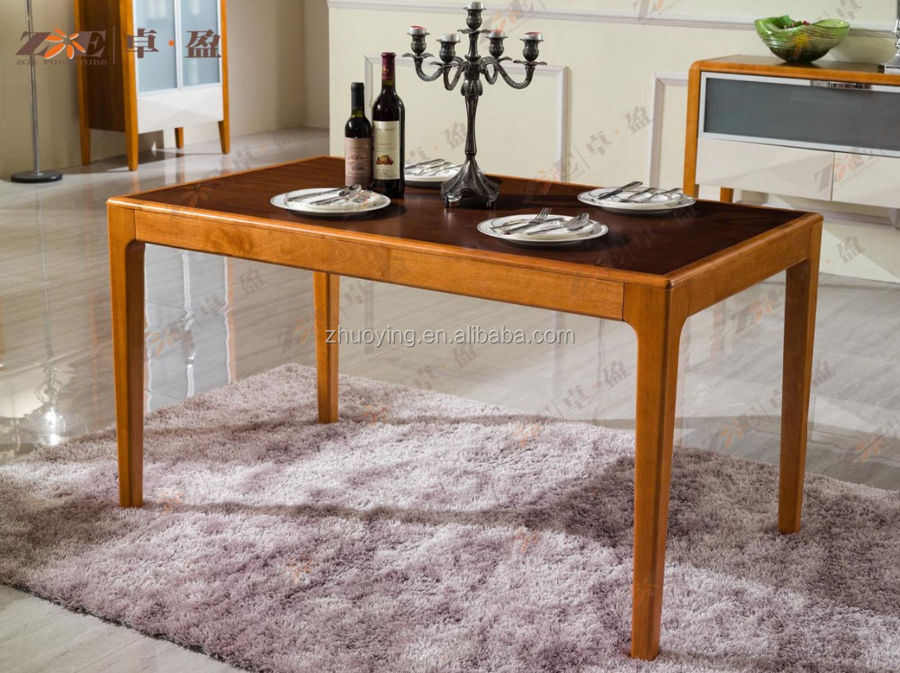 wooden dining room furniture set table and chair for sale