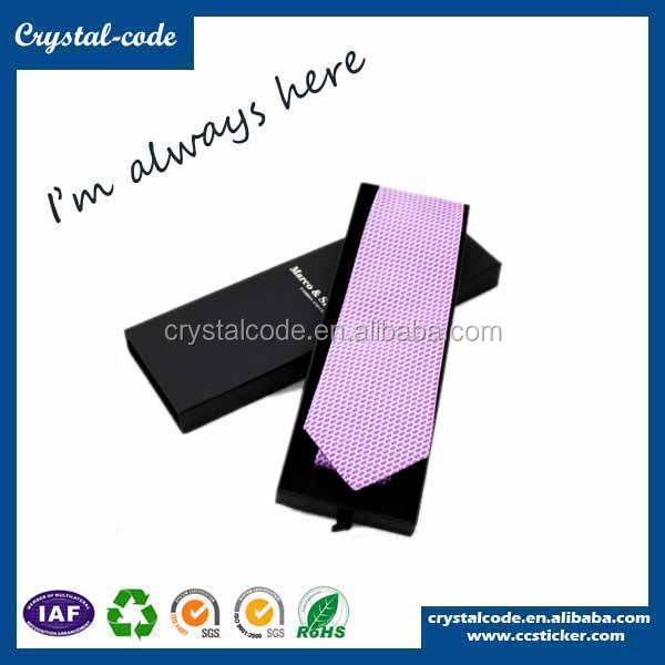 Wholesale newest top quality cardboard paper bow tie box necktie gift box