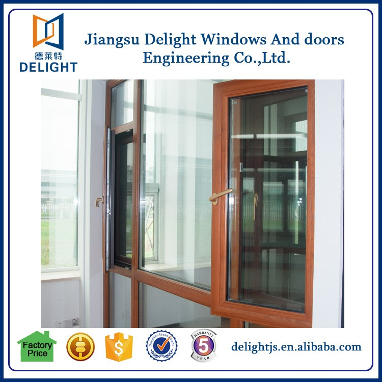 Free Grill Design Inward Opening French Casement Window Made In China