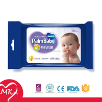 Wholesale bacteriostatic organic baby skin care cleaning wet baby wipes by high-tech manufacturing machine