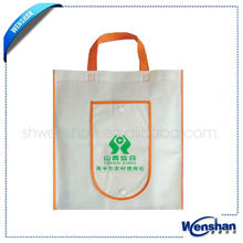 hotsale foldable non woven shopping tote bag