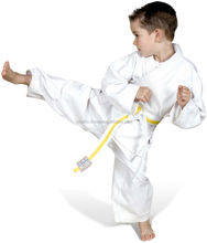 Pure Cotton White Kids Karate Uniform
