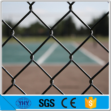 Black Chain Link Pool Safety Fence 4 Feet High ( ISO, BV, CE Factory)