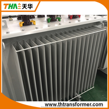 Oil immersed 100kva 3 phase transformer step up step down transformer