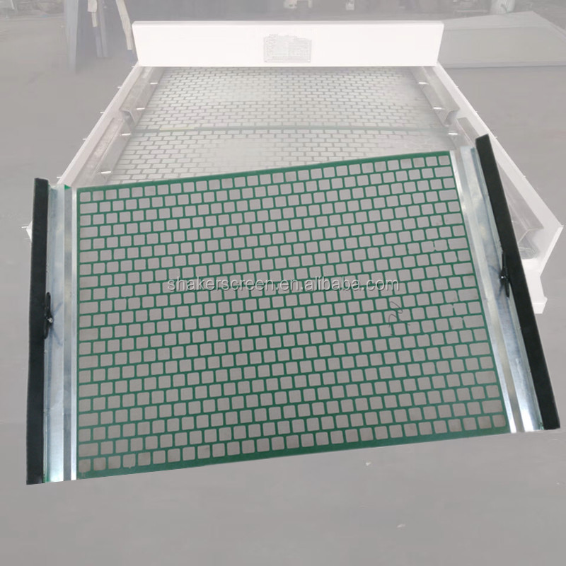 D500 plate type oilfield screen for mud cleaner