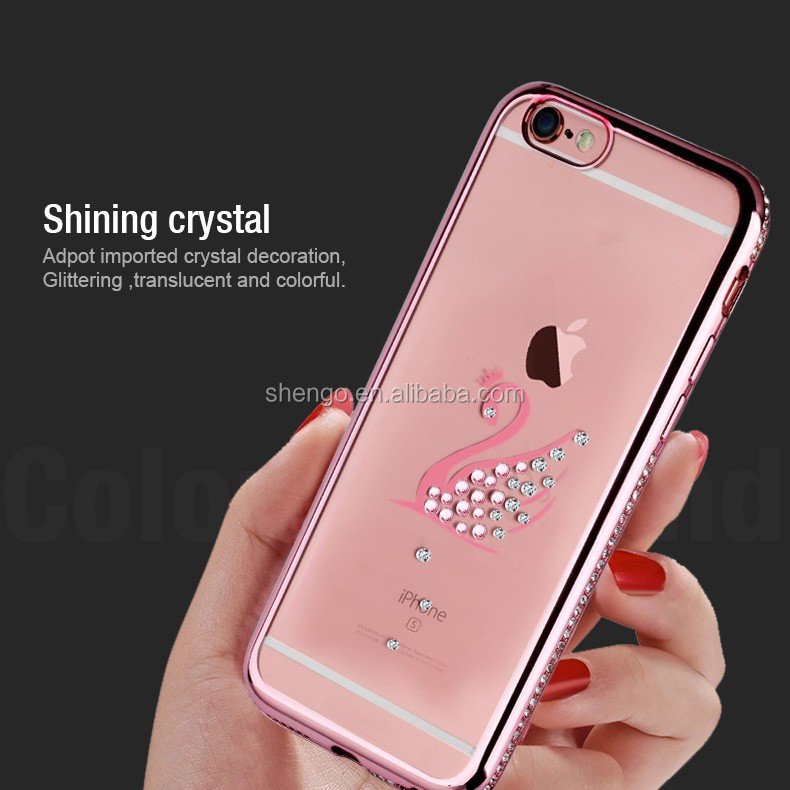 2016 TPU Crystal Clear Cover Full Body Protective Coverage Case Slim Best Cell Phone Cases for Protect for iphone 7