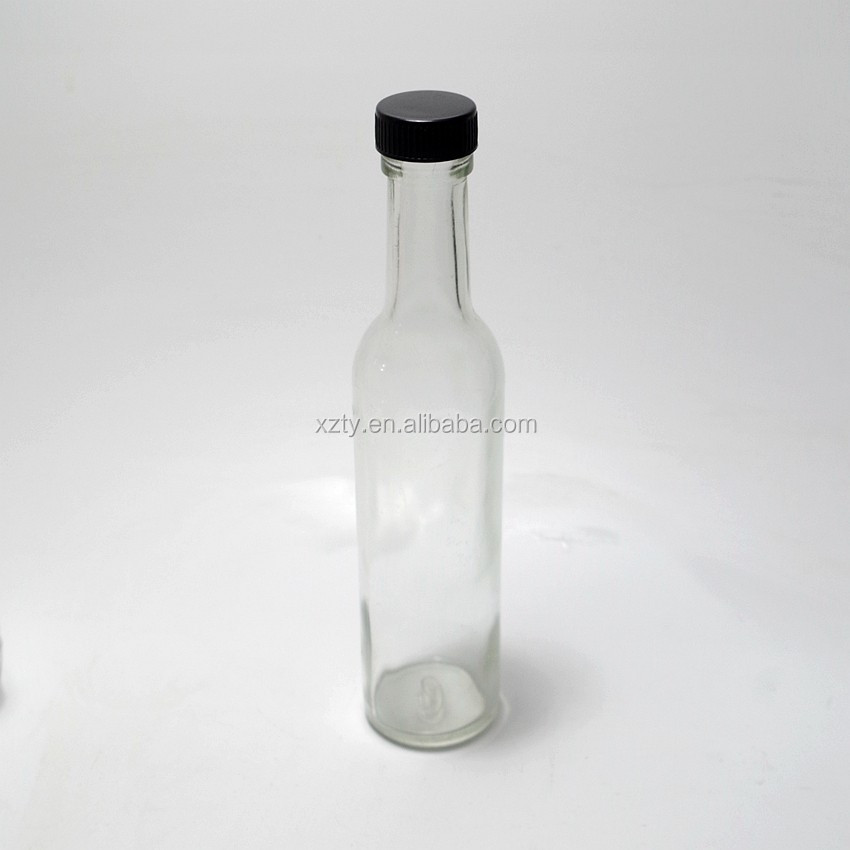woozy 200ml glass spice bottle for oil/tomato ketchup/sauce