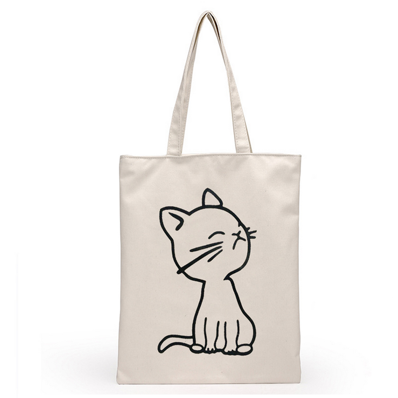 Shenzhen Factory Durable Canvas Knitting Tote Bag
