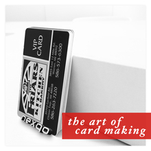 Nexqo!!! PVC/Paper RFID Business Card/VIP Loyalty Card with QR Code