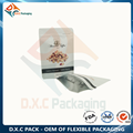 Aluminum Foil Stand Up Pouch with Zipper for Nut Packaging