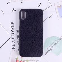 2017 new design TPU+PC Paste skin cover case leathers phone case for iphone 8