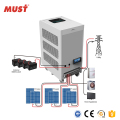 48V Solar Three Phase Inverter Must 12KW Solar power hybrid inverter with charger