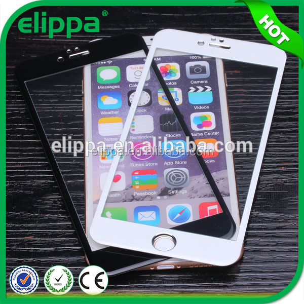 Best Quality With Wholesale Price 3D Full Cove Tempered Glass Screen Protector sheet For Iphone 6