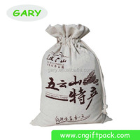 wholesales drawstring gift pouch/travel mark cotton bag