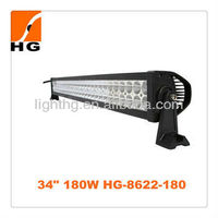 Cheap Price!! 35 inch 180W Off Road LED Light Bars For Offroad Trucks, Side by Sides, Crossovers, Golf Cart.
