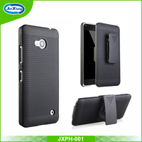 Black holster belt clip case for microsoft lumia 640
