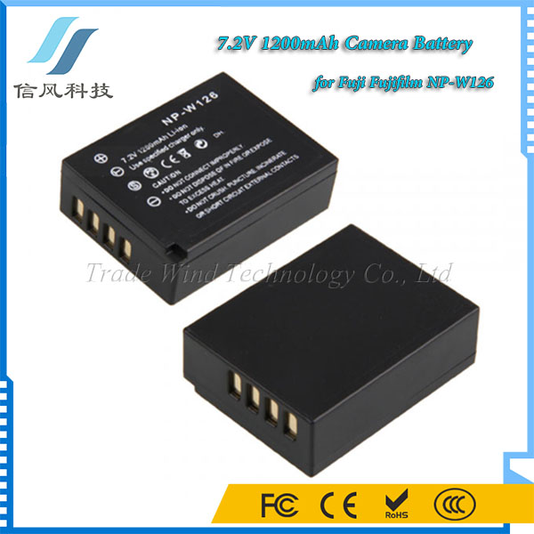 7.2V 1200mAh Lithium Digital Camera Battery for Fuji Fujifilm NP-W126 Battery