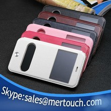 for iphone 6 leather phone case , for iphone 6 leather dual window case , for iphone 6 leather flip case