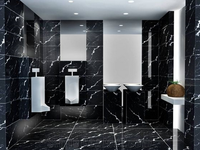 Nero Marquina Marble Bathroom Wall tiles Floor Covering Tiles China Black Marble