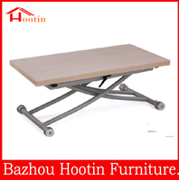 popular design high quality wooden cheap folding dinner table