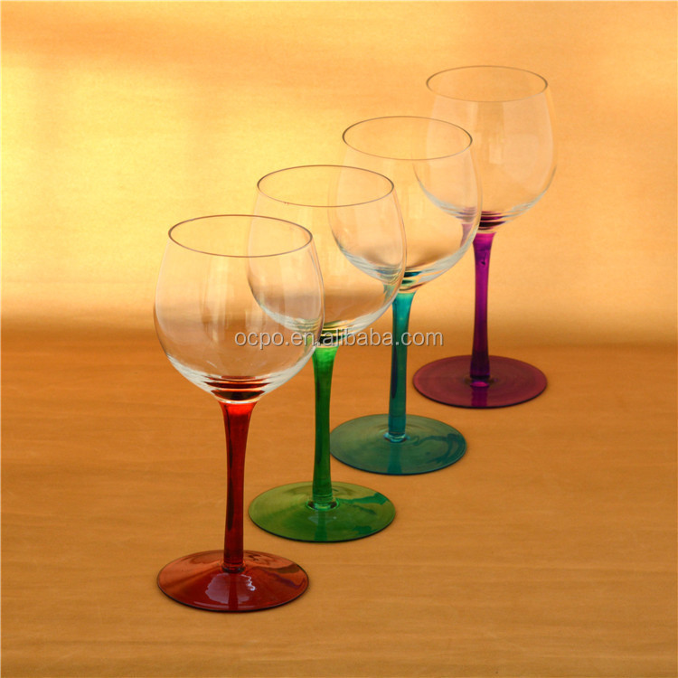 red wine glass/drinking glass/ crystal glasses