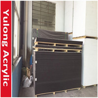 1220x2440x30mm 10mm Black PVC Foam Sheets