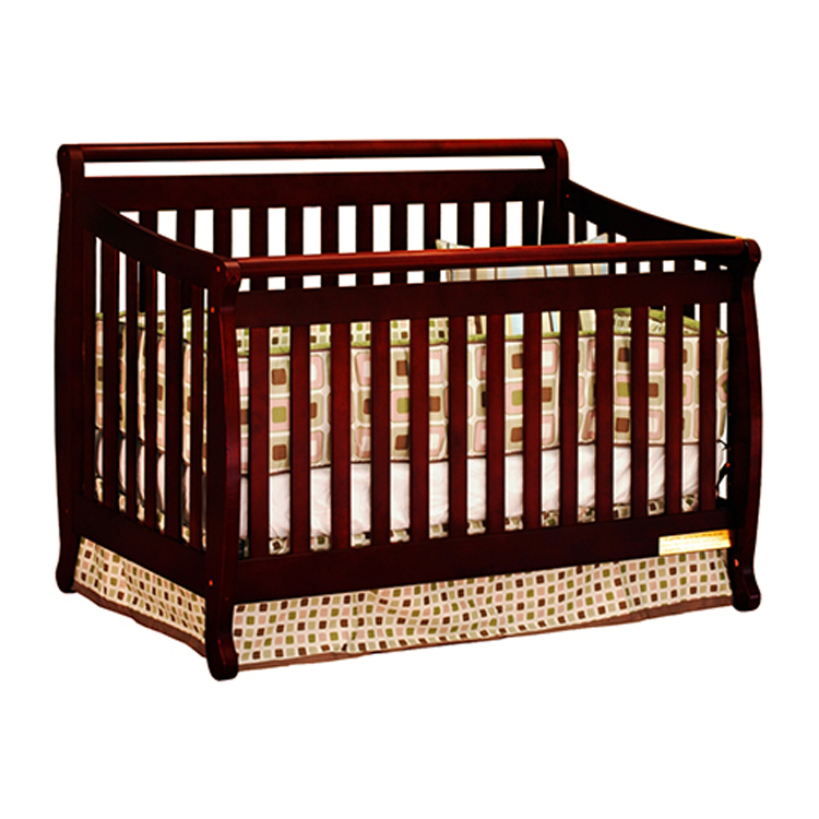 4 in 1 convertible crib multi-functional baby bed/wooden baby cot
