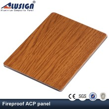 Alusign double side best excellent quality lightweight exterior wall panel building materials