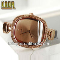 Mini Korea Julius Ladies Slim Leather Bracelet Watch Brand