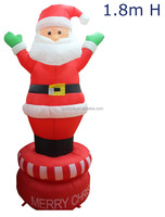 indoor inflatable Satan, inflatable decoration backyard, Inflatable Christmas Product