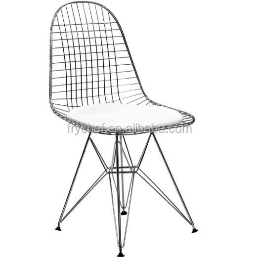 Custom Made Office Furniture Meeting Room Wire Tower Side Chair