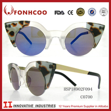 FONHCOO Good Performance Hot Sale Colorful Sun Glasses Promotional Luxury Mask Sunglasses