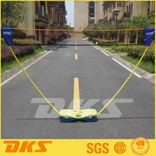 DKS Badminton net set with net, poles and carry case