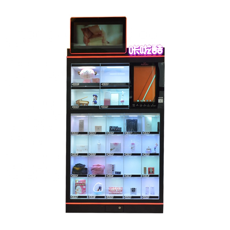 Tik Tok Hot Sale Custom Made Perfume Lipstick Game touch <strong>screen</strong> Vending Machines