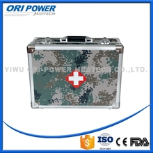 OP manufacture FDA CE ISO approved camouflage boxes metal disaster emergency first aid military survival kit