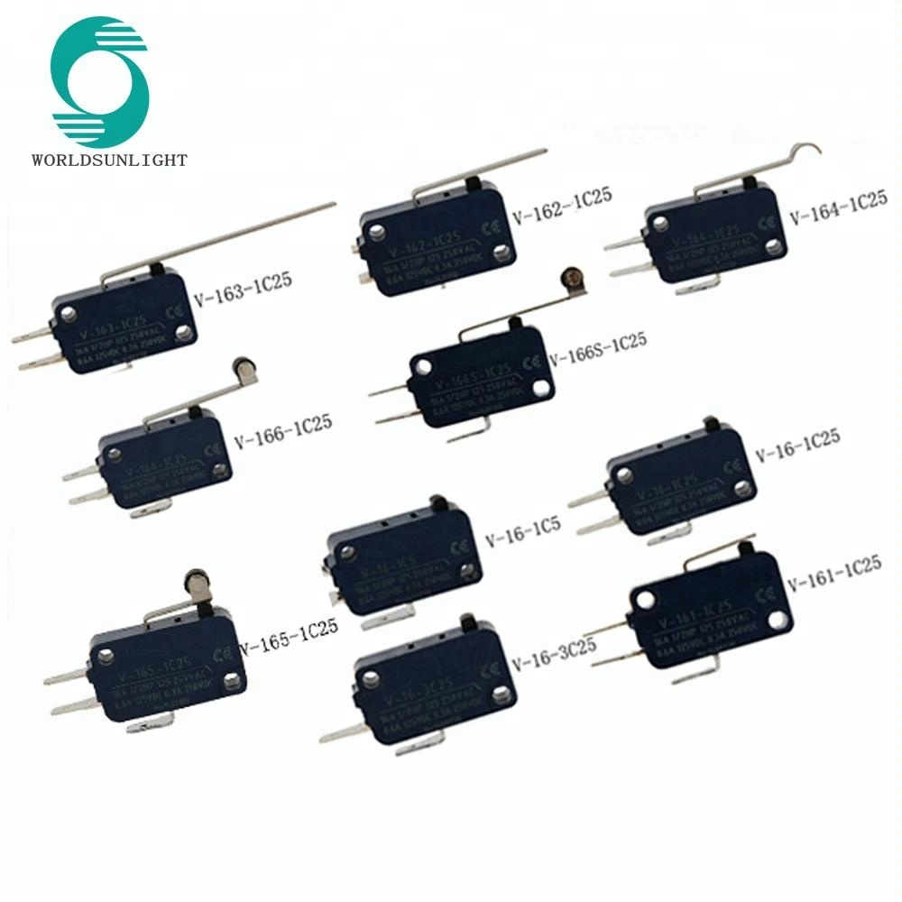IP40 CE approval spdt or spst 3A 5A 10A 15A 16A 250V miniature mini waterproof snap action micro switch t85 5e4