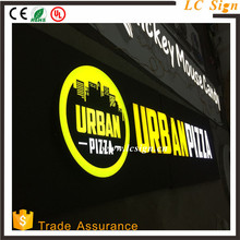 Outdoor LED Lighted Up 3D Letters sign outdoor,large outdoor led letter,best outdoor hair salon sign
