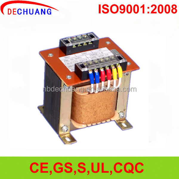 OEM 50Hz/60Hz 220v to 380v one phase step up ac transformer 380 volt transformer