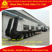 4 axle low bed trailer,low bed trailer 100 ton for sale