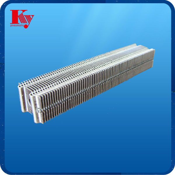 Pneumatic industrial corrugated staple nail for wooden case fixing
