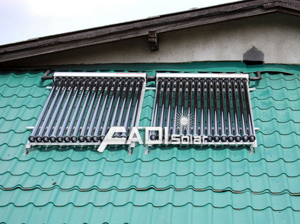 New type solar energy water heater collector solar kollektor