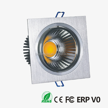 Powerful cob led ceiling downlight 1x20w movable ceiling light fixture 25watt