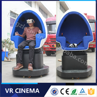 Newest Experience Super Fun Game Machine 1080P Full HD VR Glasses Electric 9D VR Cinema From Factory