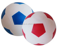 Custom inflatable PVC Soccer Ball - Size 5 - Training and Match Water Proof Football - Alternate pattern