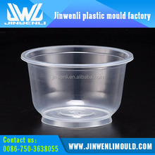 thin wall injection molded plastic container mold making