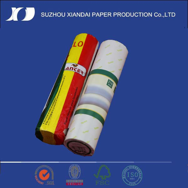 custom thermal paper roll fax paper